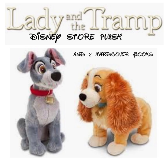 Disney Accessories Lady And The Tramp Plush And More Poshmark